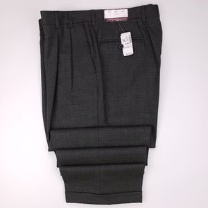 Jos A Bank Houndstooth Pants New 36x28 Multicolor